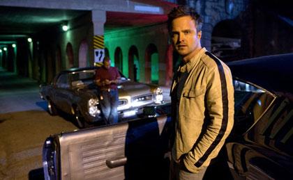 Aaron Paul trong Need for Speed, phim dựa trên một video game, ra mắt ngày  14/3 [Ảnh: Melinda Sue Gordon/DreamWorks Pictures và Walt Disney Pictures]